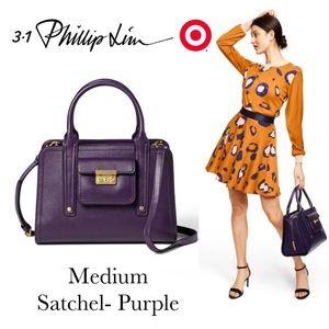 Just In!NWT Philip Lim (Target) Med Purple Satchel